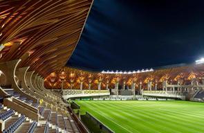 ملعب فريق بوسكاس أكاديميا المجري الجديد