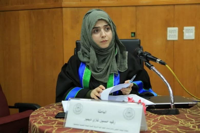 """""""رقية ديمير"""" أول طالبة تركية تحصل على """"الماجستير"""" من الجامعة الإسلامية"""