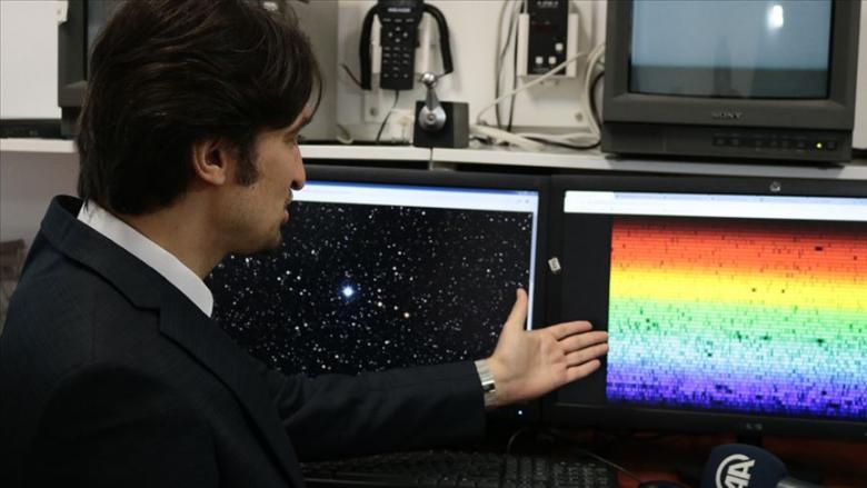 """فلكي تركي يكتشف """"نجمًا عملاقًا بتركيبة كيميائية غريبة"""""""