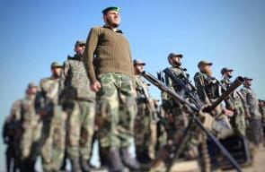 طابور أركان للواء الجنوبي في قوات الأمن الوطني
