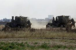 توغل لجرافات جيش الاحتلال شرق البريج