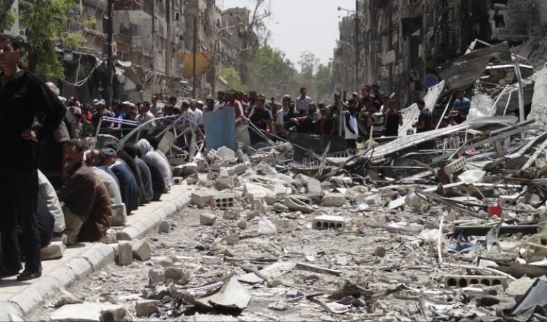 الجيش السوري يسيطر على مخيم اليرموك