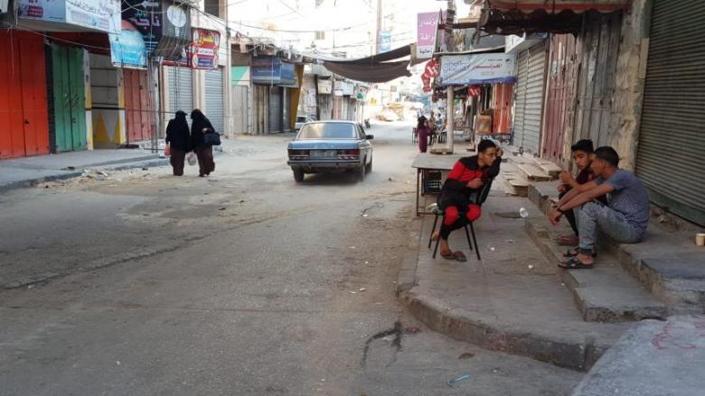 إضراب شامل يعمّ قطاع غزة
