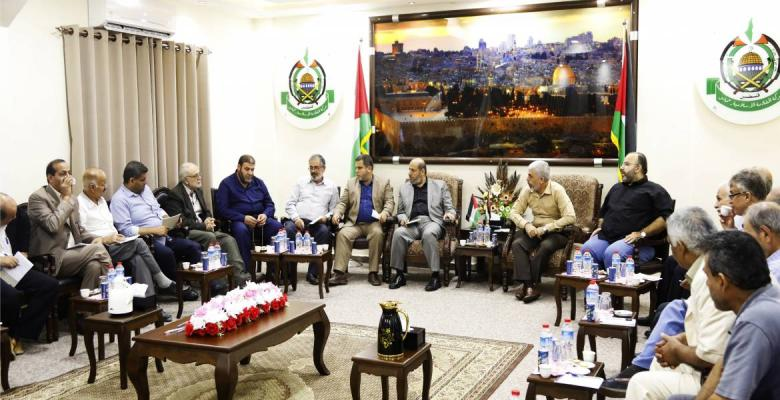 حماس تعقد لقاء تشاوريًا مع فصائل العمل الفلسطيني