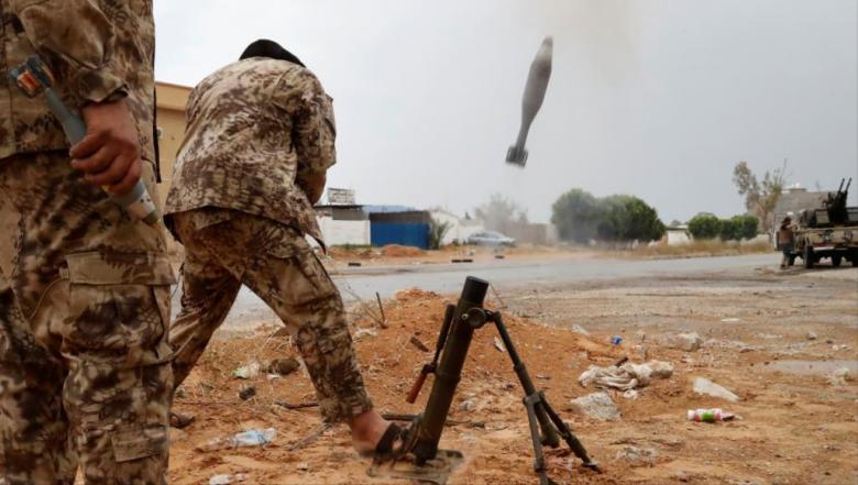 قوات حفتر تعلن مقتل ثلاثة من قادتها جنوب طرابلس