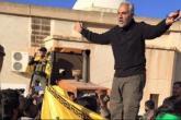 """إصابة """"سليماني"""" قائد فيلق القدس في سوريا"""
