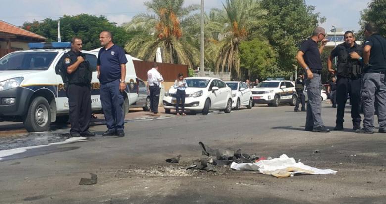 "سقوط عدة قذائف هاون بـ""أشكول"" قرب حدود قطاع غزة"