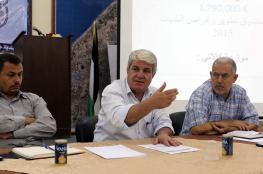 بالصور:بلدية خانيونس تعقد لقاءات لتقييم مشاريعها