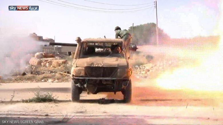 الجيش الليبي يسيطر على مطار رأس لانوف