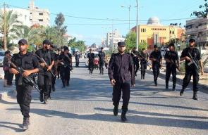 مسير عسكري لطلبة كلية الرباط التابعة للداخلية