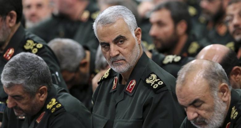 قاسم سليماني يسخر من إعلان ترامب إسقاط طائرة إيرانية