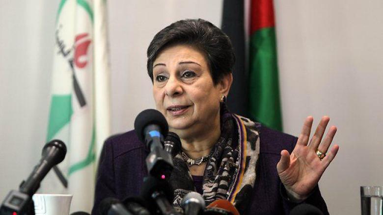 عشراوي تطالب بتقديم الاحتلال إلى المحكمة الجنائية
