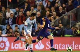 برشلونة بعشرة لاعبين ينجو من انتفاضة سيلتا فيغو