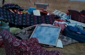 الاحتلال يهدم منزلاً بالنقب للمرة السابعة