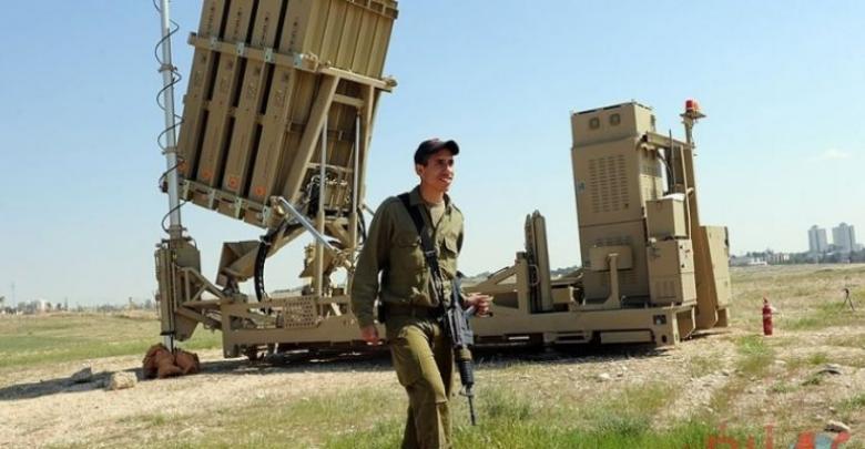 الاحتلال ينشر القبة الحديدية بغلاف غزة