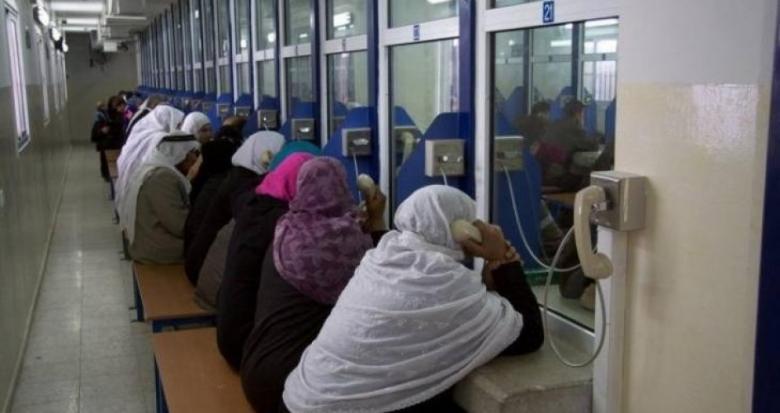 """27 من أهالي أسرى غزة يزورن 16 أسير في سجن """"إيشل"""""""