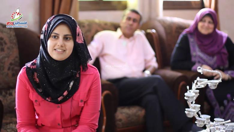 """""""فلسطين الآن"""" ترصد فرحة المتفوقين في الثانوية العامة"""