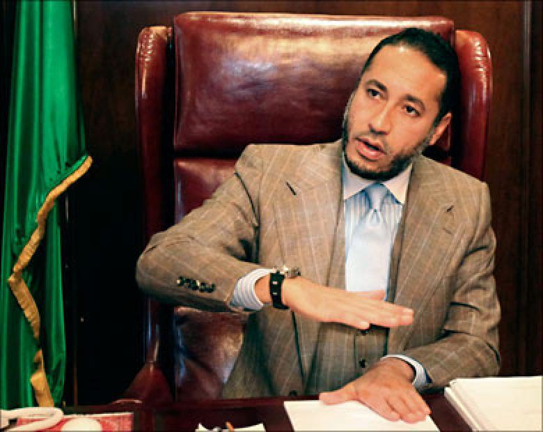 الساعدي القذافي في النيجر
