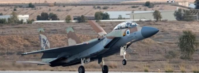 مقاتلة-إسرائيلية-ا-ف-ب