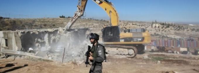 الاحتلال يهدم ثلاثة منازل قيد الإنشاء شرق أريحا
