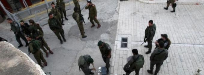 قوات الاحتلال في المسجد الإبراهيمي