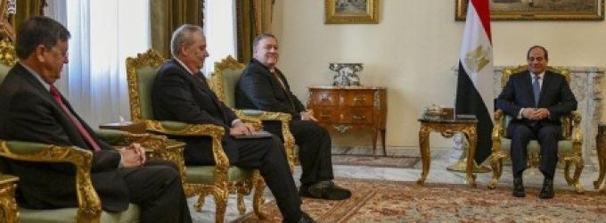 السيسي يزور الأردن وتحالف بومبيو على الطاولة