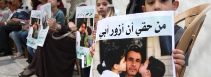 22 من أهالي معتقلي غزة يتوجهون لزيارة أبنائهم في رامون