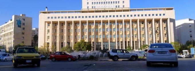 منظومات اتصال ضخمة في مقر شركة مخالفة وسط دمشق