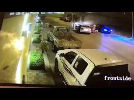شجار بالسيارات في الرياض