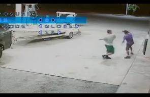 جريمة قتل بشعة داخل محطة بنزين
