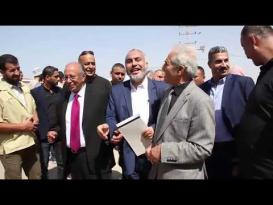 حكومة التوافق تستلم مهامها في قطاع غزة