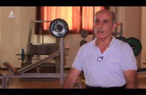 علي النونو.. يحافظ على رياضة رفع الأثقال رغم تقدم سنه