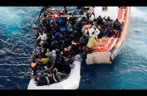 إغاثة أكثر من 1000 مهاجر من البحر المتوسط
