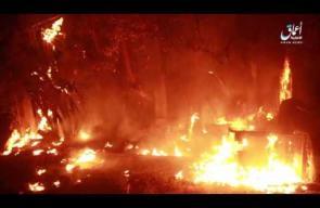 قصف أمريكي بالفوسفور الأبيض على الأحياء الغربية للرقة