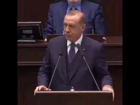 طفلة تقاطع أردوغان بطريقة عفوية، جعلته يخرج عن الخطاب الرسمي