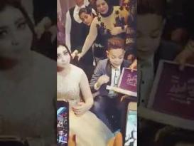حفل.. العروسان في الإعدادية