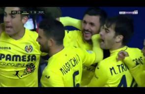 أهداف مباراة برشلونة وفياريال