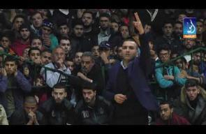 المباراة النهائية لكرة السلة بغزة