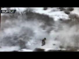 شاهد.. جيش الاحتلال يزعم أنه كقطع لتسلل مقاومين فلسطينيين