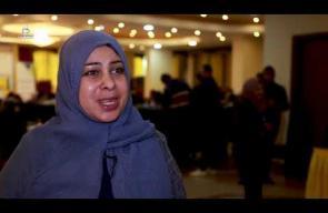 مناظرات علمية وسياسية بين طلاب الجامعات بغزة