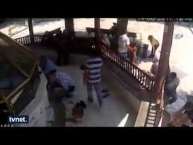 تركي يقتل شقيق زوجته وهو يتوضأ للصلاة !!