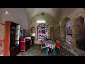 قصر حتحت الأثري في غزة