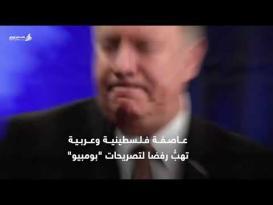 عاصفة فلسطينية وعربية تهبُّ رفضا لتصريحات