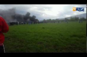 سقوط طائرة عسكرية جزائرية في مطار بوفاريك
