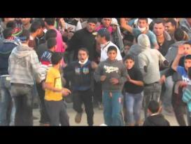 أحداث ومواجهات شرق خان يونس الجمعة 27-11-2015م