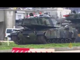 تركيا تؤكد بدء عملية عفرين بالقصف المدفعي