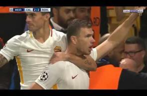 اهداف المباراة المجنونة بين تشيلسي وروما