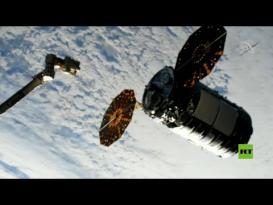 سفينة شحن تنقل حمولة لمحطة الفضاء الدولية