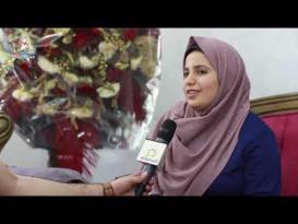 ماذا قالت الطالبة ورد طلال قويدر بعد حصولها على معدل 99.6%