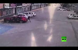 لحظة اغتيال ضابط مكسيكي اعتقل نجل